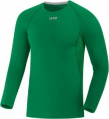Jako Compression 2.0 Longsleeve - Thermoshirt - groen - XL