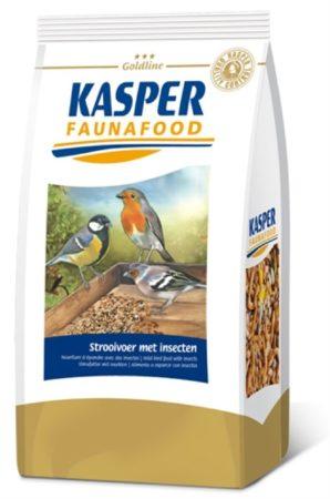 Afbeelding van Kasper Faunafood Goldline Strooivoer met Insecten - Vogelvoer - 1 kg