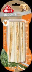 8in1 Delights Sticks Kip 3x25 g 3 stuks - Hondenvoer