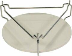 Zilveren Kamado Essentials Plate setter XS (13 inch) - Kamado Accessoires - Deflector Plate