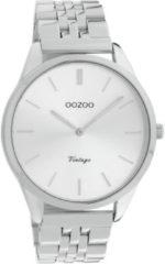 OOZOO Timepieces Horloge Vintage Zilver | C9981