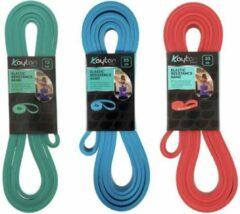Rode Kaytan Sports - Resistance bandenset 15-25-35 kg - Fitness elastieken - Sport banden - Elastische Weerstandsband - Workout - Fitness - Krachttraining - Sport elastiek