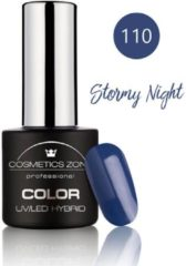 Blauwe Cosmetics Zone UV/LED Hybrid Gel Nagellak 7ml. Stormy Night 110