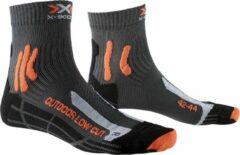 X-Socks Sportsokken - Maat 39-41 - Mannen - grijs/oranje/zwart