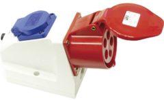 AS Schwabe Gecombineerd stopcontact 5x16A 400V, 1 x 230 V geaard stopcontact