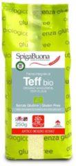 ANTICO MOLINO ROSSO Srl SpigaBuona Farina Integrale Di Teff Bio Senza Glutine 250g