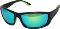 Groene Amoy Capri Sportbril 1.1mm Polarized. TR-90 Ultra-Light frame Anti-Reflect coating.