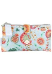 Oilily Groovy Sunflower Cosmetic Pouch MHZ OILILY 401 light blue