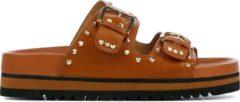 Bibi Lou Dames Slippers 893z11hg - Cognac - Maat 36