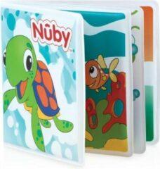 Nûby - Badspeelgoed - Kleurrijk Badboekje - Met Piep - 6m+
