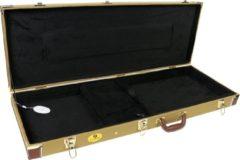 Heeft u bijvoorbeeld meerdere elektrische solidbody gitaren met een gangbare vorm en lengte en zoekt u een universele gitaarkoffer met een stijlvolle tweed-afwerking? Dan biedt Fazley u de GC 600 scherp geprijsde koffer.
