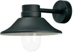 Konstsmide Buitenverlichting Wandlamp Vega zwart 5W LED dimbaar 412-750