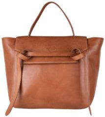 Bruine Legend Bags Vercelli One size Dames Handtas-Cognac