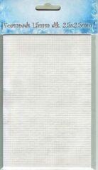 Witte Nellie Foampads zelfklevend voor 3d techniek kaarten maken 1,5 mm dik, vierkantjes van 2,5x 2,5 mm 2400 stuks