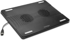 Zwarte Kensington Laptop Cooling Stand with USB Fan