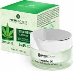 Fresh Secrets Gezichtscrème *Cannabis* Extra Hydraterend 50ml