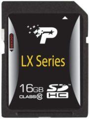 Patriot Speicherkarte Secure Digital SDHC Card 16 GB Patriot bunt/multi