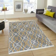 Nerge.be | Vintage Vloerkleed, Woonkamer, Slaapkamer en Eetkamer Tapijt | Model Geweven Onderlaag | 80x140 cm (K268)