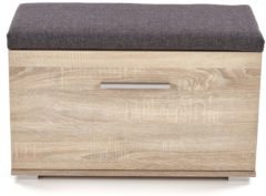 Home Style Schoenenbank Lima 45 cm hoog in sonoma eiken