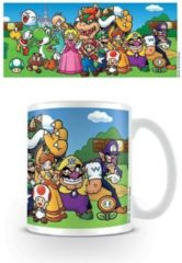 Witte Nintendo - Super Mario Characters beker multicolours