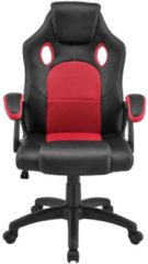 Merkloos / Sans marque Bureaustoel / Gamingstoel - rood