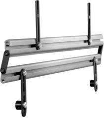 TV-Standfuß + Soundbar 'SBM100' | TV-Wandhalterung incl. Soundbarhalterung VCM silber/aluminium