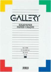 Gallery kalkpapier formaat 21 x 297 cm (A4) etui van 20 vel