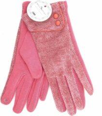 Winter handschoenen Elegance van BellaBelga - roze