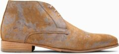 Zilveren Paulo Bellini Boots Avellino Cognac|Silver.