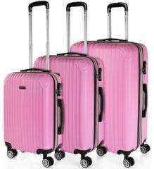 Roze Reiskoffer Itaca Sevron Sevron