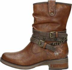 Bruine Boots en enkellaarsjes Rexi by Mustang shoes