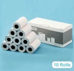 Witte Minibear Rollen Voor Digitale kindercamera | Instant Print - 10 Stuks