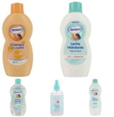 Nenuco babypakket - 5 stuks assortiment - Voordelig Inslaan - Nenuco Shampoo - Olie - bodymilk & Eau de cologne