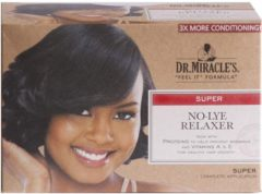 """DR. MIRACLE'S """"FEEL IT"""" FORMULA NO-LYE RELAXER SUPER"""