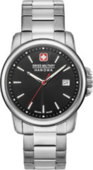 Zilveren Swiss Military Hanowa - Swiss Made - herenhorloge Swiss Recruit II 06-5230.7.04.007