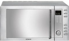 MWG2281HCB eds - Microwave oven 21l 800W stainless steel MWG2281HCB eds