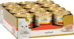 Gourmet Gold Mousse - Kattenvoer Rund - 24 x 85 g