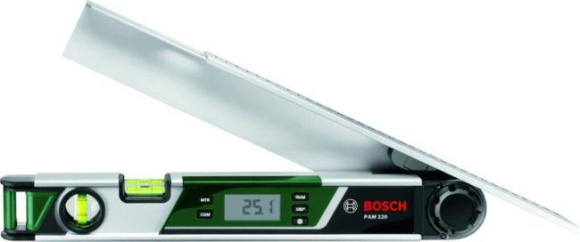 Afbeelding van Bosch Home and Garden PAM 220 0603676000 Digitale hoekmeter 400 mm 220 ° Fabrieksstandaard (zonder certificaat)