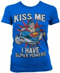 Rode Fun & Feest Party Gadgets Super Powers dames t-shirt S