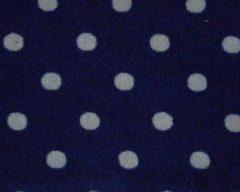 Marineblauwe ISI Mini - Autostoelhoes - groep 1 - geschikt voor Maxi-Cosi Axiss - marine stippen licht grijs
