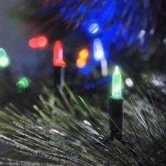 Konstsmide 6004-500 Mini-lichtketting Buiten Energielabel: A (A++ - E) werkt op het lichtnet 40 LED Bont Verlichte lengte: 8.85 m