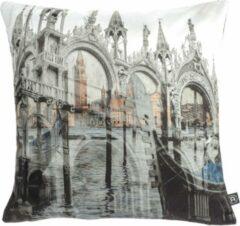 Grijze Dividere Home Dividere Rhapsody - Sierkussen - Venice Rhapsody (45 x 45)