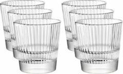 Vidivi 24x Drinkglazen/waterglazen Diva transparant 300 ml - Koffie/thee glazen Diva 300 ml