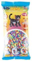 Hama beads Hama strijkkralen 205-50 - 6000-delig - pastelkleuren