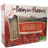 Le Pain des Fleurs Quinoa Crackers Bio (1 Pak van 150 gr)
