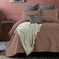 DreamHouse Bedding Bedsprei Florida - Bruin