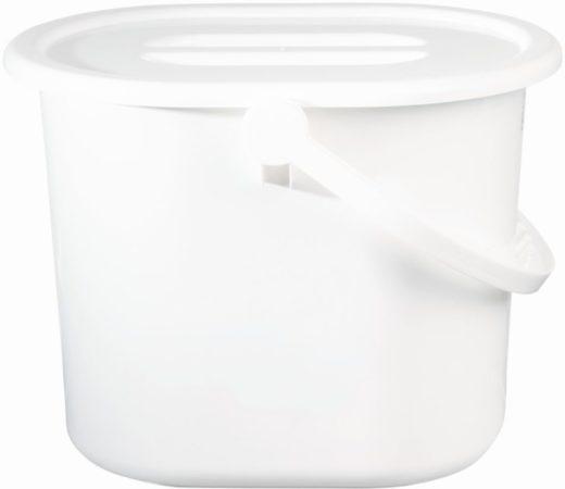 Afbeelding van Witte BEBE JOU Luieremmer met deksel Kleur 01 wit