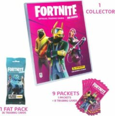 PANINI - FORTNITE 2 TRADING CARDS - 1 COLLECTOR + 1 FAT PACK + 9 ZAKJES - PROMO PACK