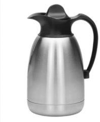 EMGA - Thermoskan 1,5 liter zwart - Houd dranken tot 24 uur koud of warm