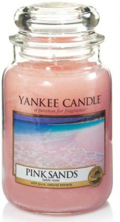 Afbeelding van Roze Yankee Candle Large Jar Geurkaars - Pink Sands